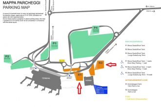 Rental car services in Catania Airport - Map