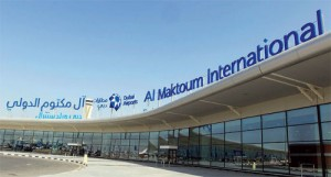 Rental cars at Al Maktoum International Airport in Dubai