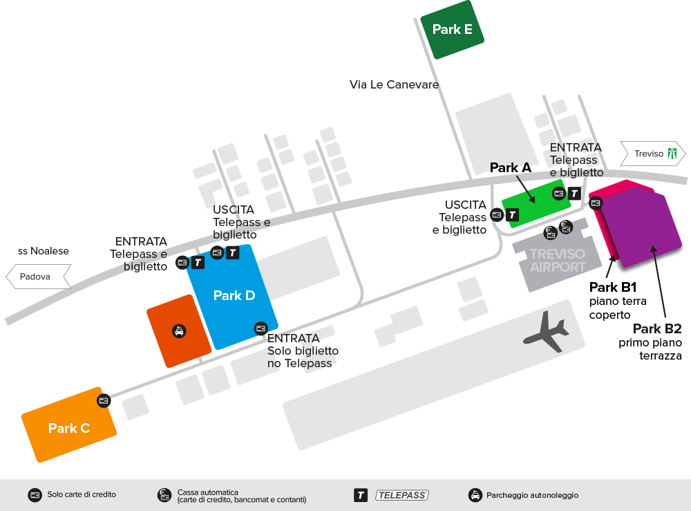 treviso airport rental cars map hertz locauto and others car hire companies