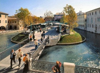 how to reach treviso from venice airport